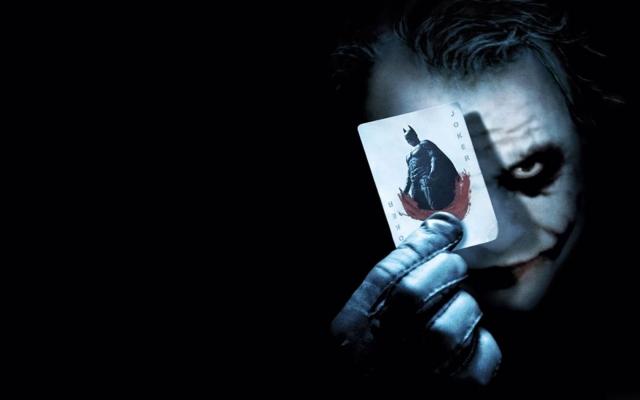 Джокер с картой