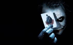 Обои Джокер с картой: Карта, Джокер, Бэтмен, Клоун, Фильмы
