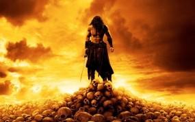 Обои Конан варвар: Меч, Черепа, Конан-варвар, Фильмы