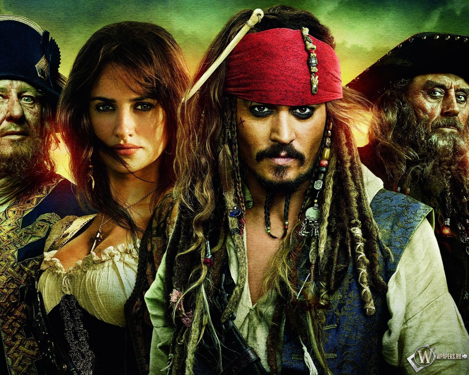 Пираты Карибского моря 1600x1280
