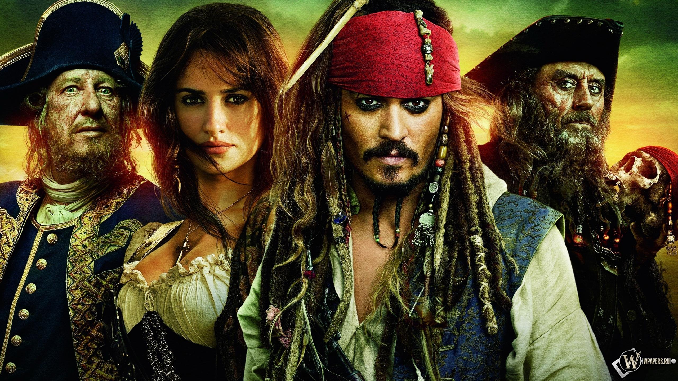 Пираты Карибского моря 2560x1440
