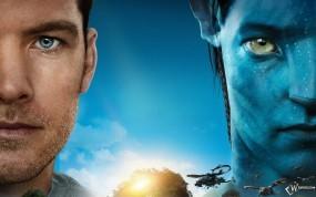 Обои Avatar: Сэм Уортингтон, Джейк, Далекое будущее, Avatar