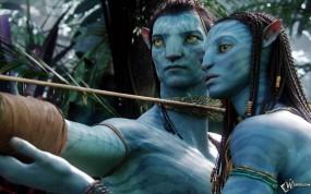 Обои Avatar: Любовь, Лук, Avatar