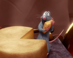 Обои Рататуй: Сыр, Мультик, Мышь, Рататуй, Мультфильмы