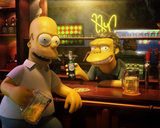 Симпсоны в 3D