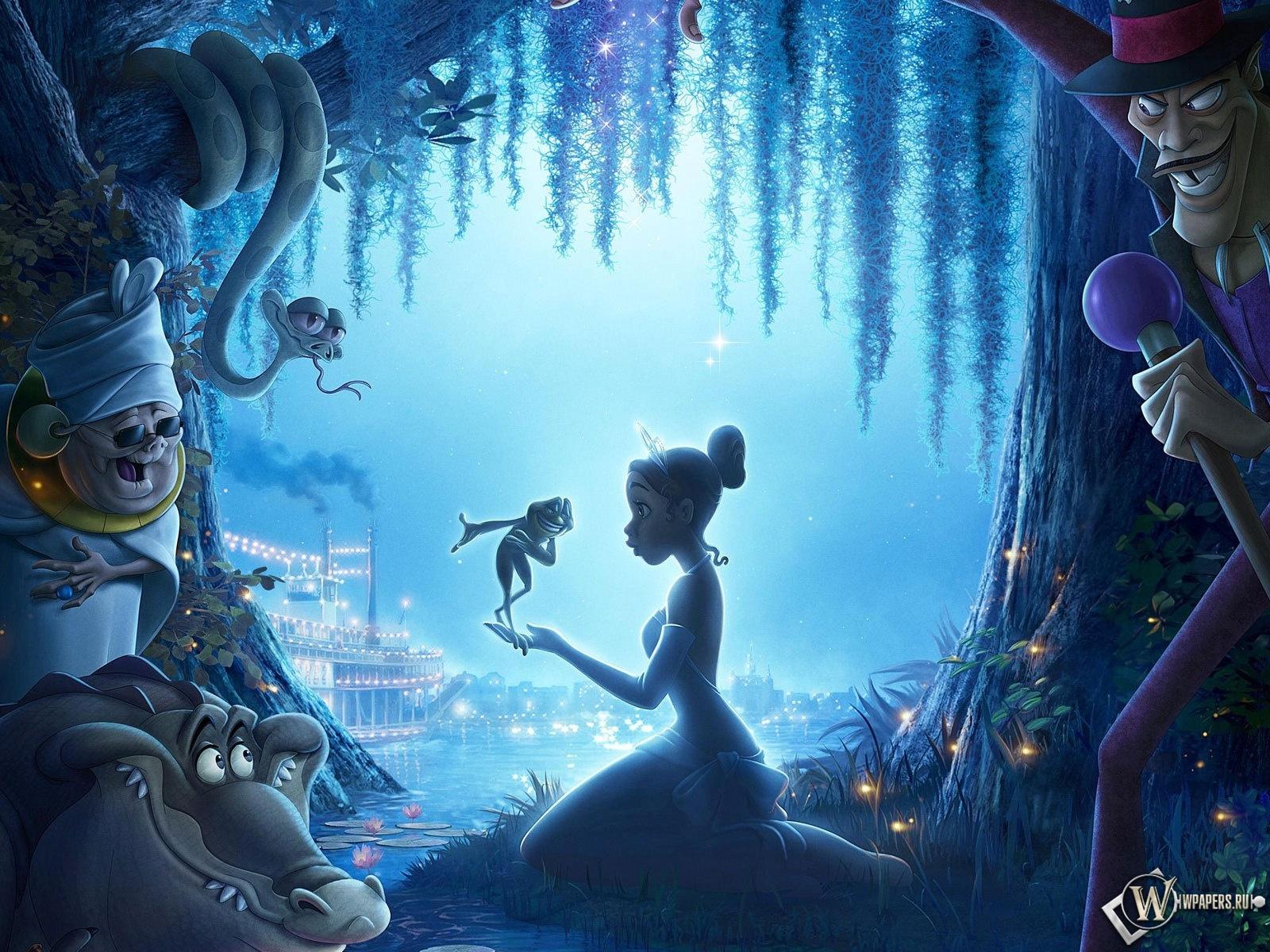 Принцесса и лягушка 1600x1200