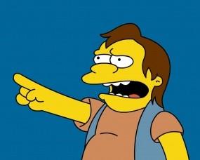 Обои Nelson Muntz: Симпсоны, Мультфильм, Нельсон, Мультфильмы