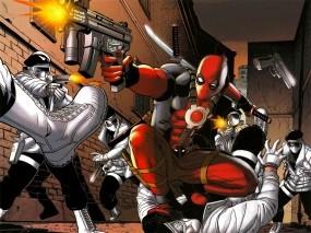 Обои Deadpool wade wilson: Игры, Картинки, Deadpool, Мультфильмы