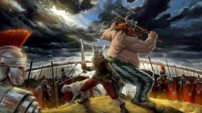 Обои Астерикс и Обеликс: Варвары, Галлы, Римляне, Мультфильмы
