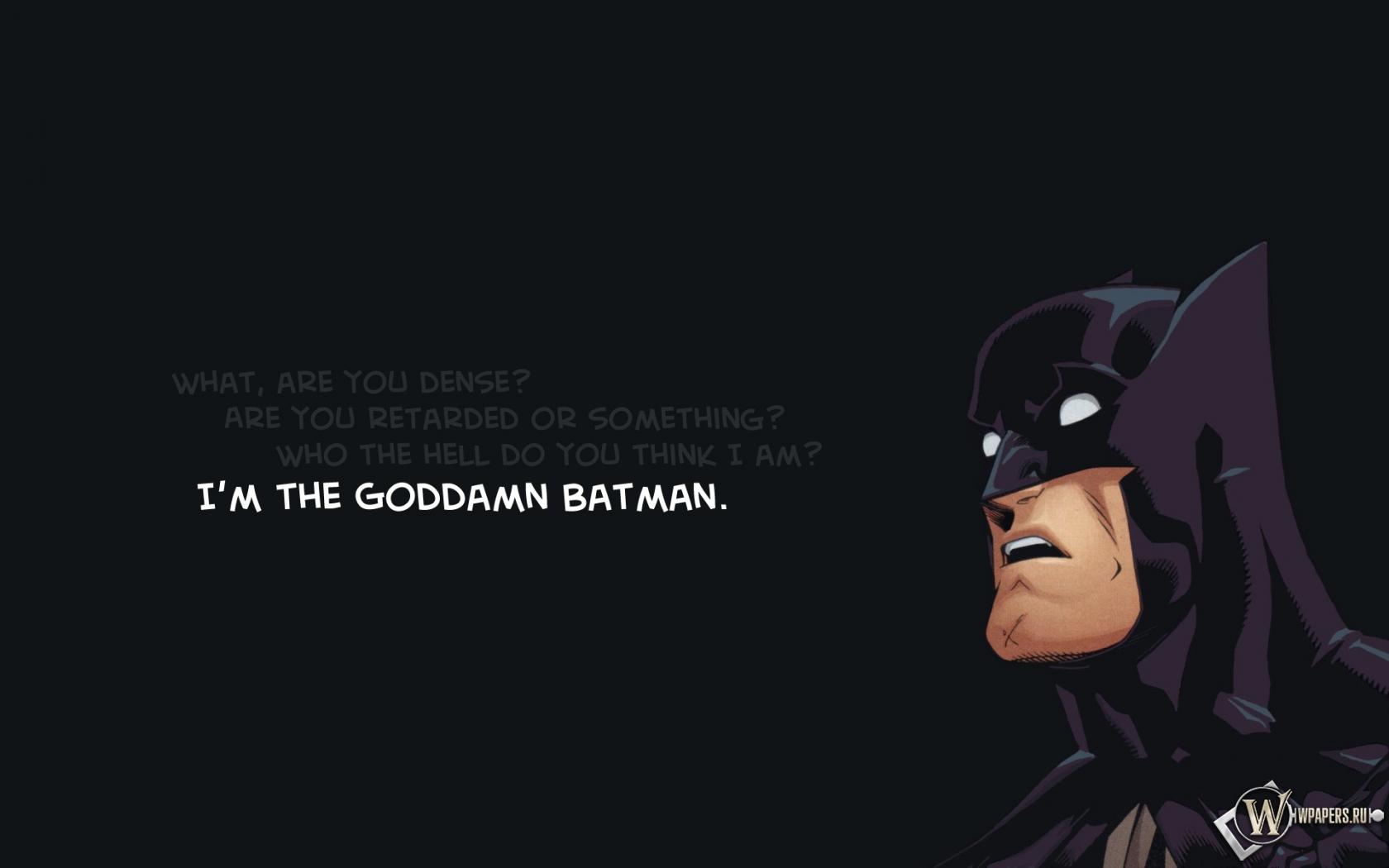 Бэтмен 1680x1050