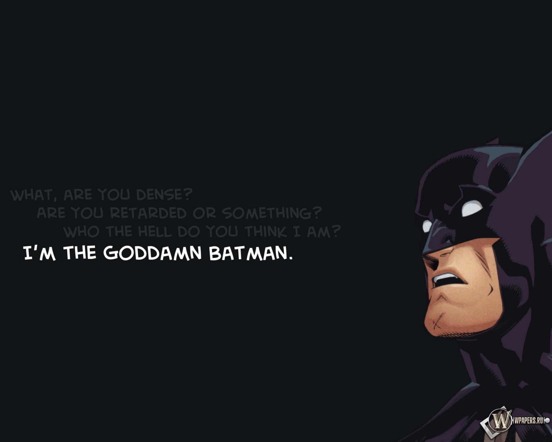 Бэтмен 1920x1536