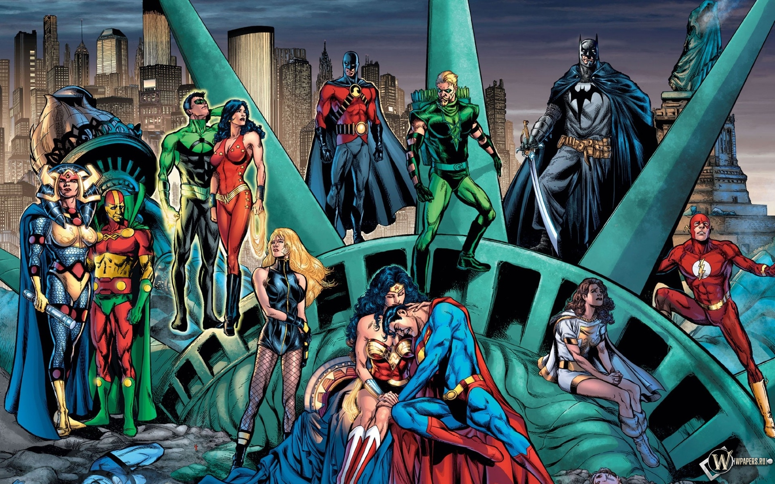 Супергерои 2560x1600