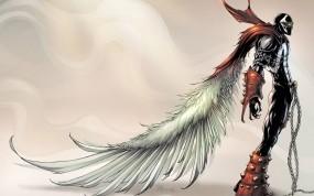 Обои Спаун: Крылья, Герой, Спаун, Мультфильмы