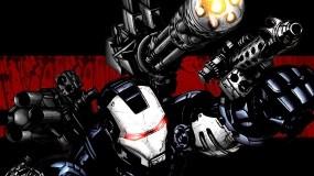 Обои Железный человек: Оружие, Доспехи, Железный человек, Костюм, Мультфильмы
