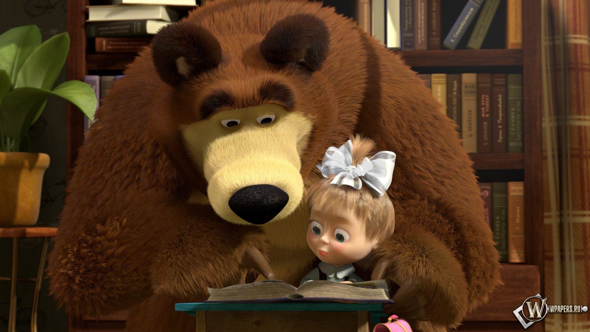 Маша и Медведь 1920x1080