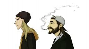 Обои Джей и Молчаливый Боб: Балбесы, Джей и Молчаливый Боб, Мультфильмы
