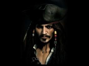 Обои Джек Воробей: Джонни Депп, Джек Воробей, Пират, Пираты карибского моря