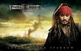 Обои Джек Воробей: Джонни Депп, Фильм, Пираты Карибского моря, Джек Воробей, Пираты карибского моря
