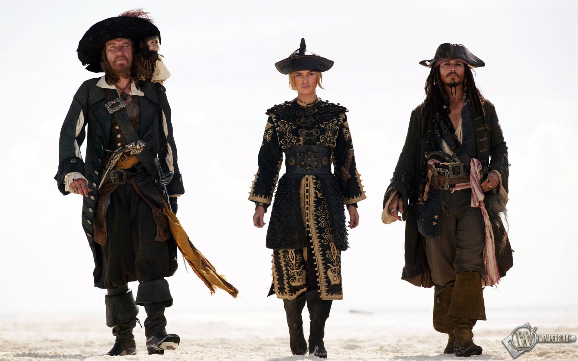 Пираты Карибского моря: На краю света 1920x1200