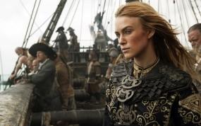 Обои Пираты Карибского моря: На краю света: Пираты Карибского моря, Кира Найтли, Пираты карибского моря