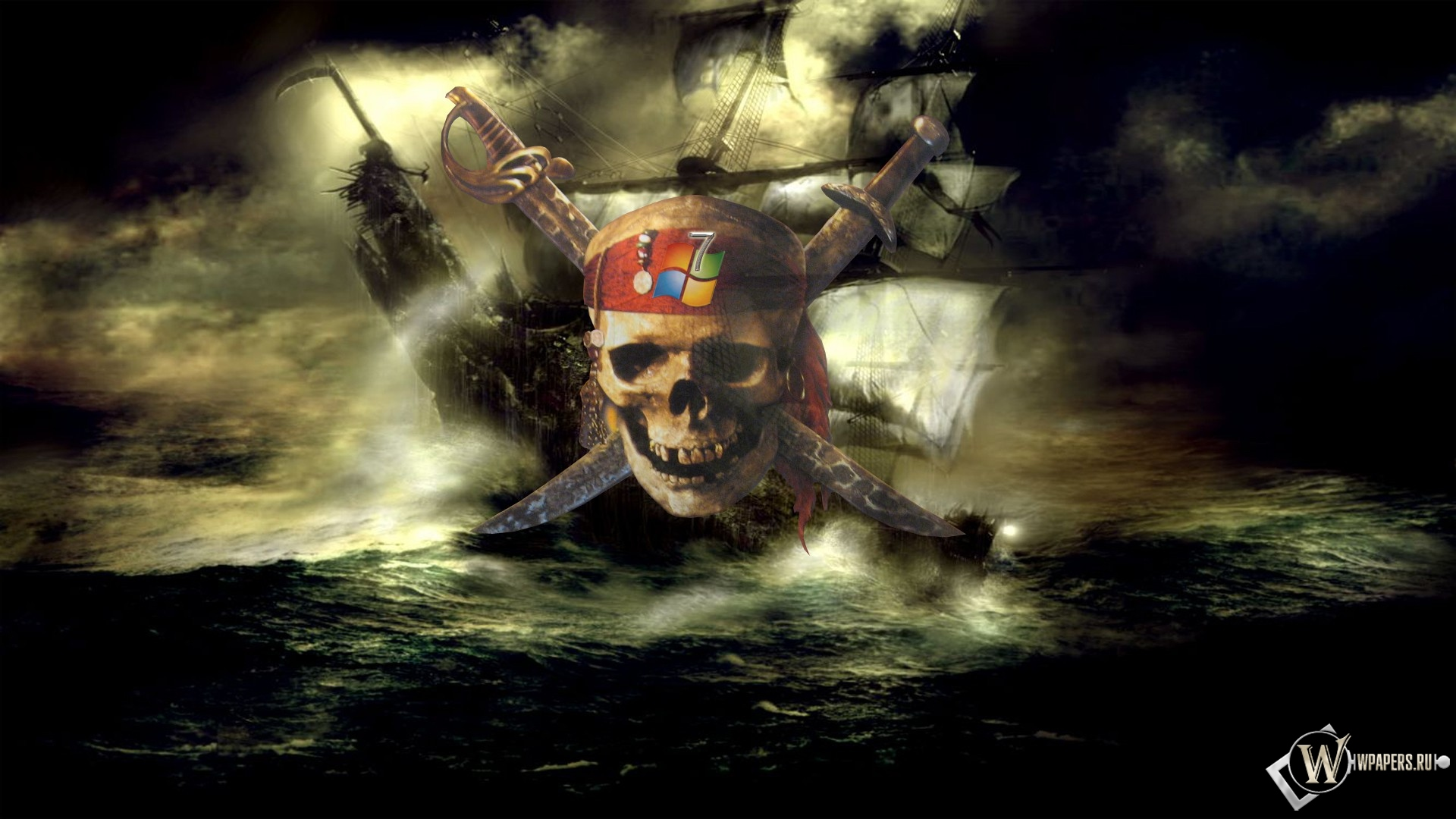 Пираты карибского моря 1920x1080
