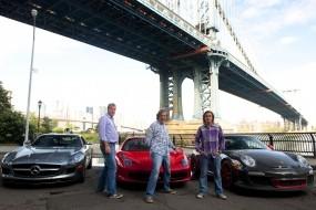 Обои Top Gear: Mercedes, Ferrari, Porsche, Top Gear, Сериалы