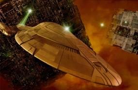Обои Star Trek Borg: Космос, Сериал, Корабль, Сериалы