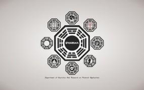 Обои Dharma Initiative: Сериал, Символ, Lost, Сериалы