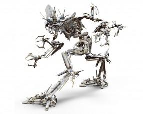 Обои Frenzy Десептикон: Робот, Трансформер, Десептикон, Шпион, Трансформеры
