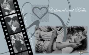 Обои Бэлла и Эдвард: Романтика, Любовь, Кино, Сердце, Сумерки