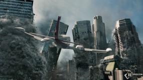 Обои 2012: Небоскрёбы, Мегаполис, Конец света, Полёт, Разрушение, 2012