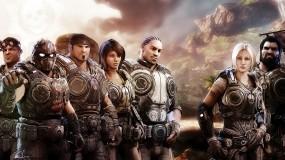 Обои Gear of War 3: Gears of War, Солдаты, Бойцы, Игры