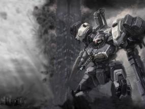 Обои Armored Core: Робот, Солдат, Armored Core, Игры