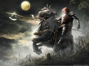 Обои Lineage 2: Луна, Рыцарь, Lineage, Игры
