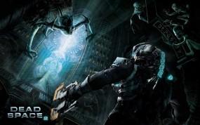 Обои Dead Space 2: Монстр, Dead Space, Костюм, Руны, Игры