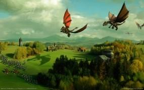 Обои SpellForce 2 Dragons: Дракон, Игра, SpellForce, Игры