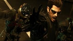 Обои Deus Ex Human revolution: Кровь, Игра, Deus Ex, human revolution, адам, Игры
