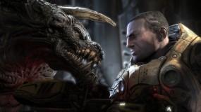 Обои Unreal Tournament 3: Воин, Пистолет, Монстр, Игра, Игры