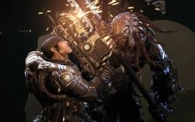 Обои Gears of War 2: Игра, Gears of war 2, маркус феникс, Игры