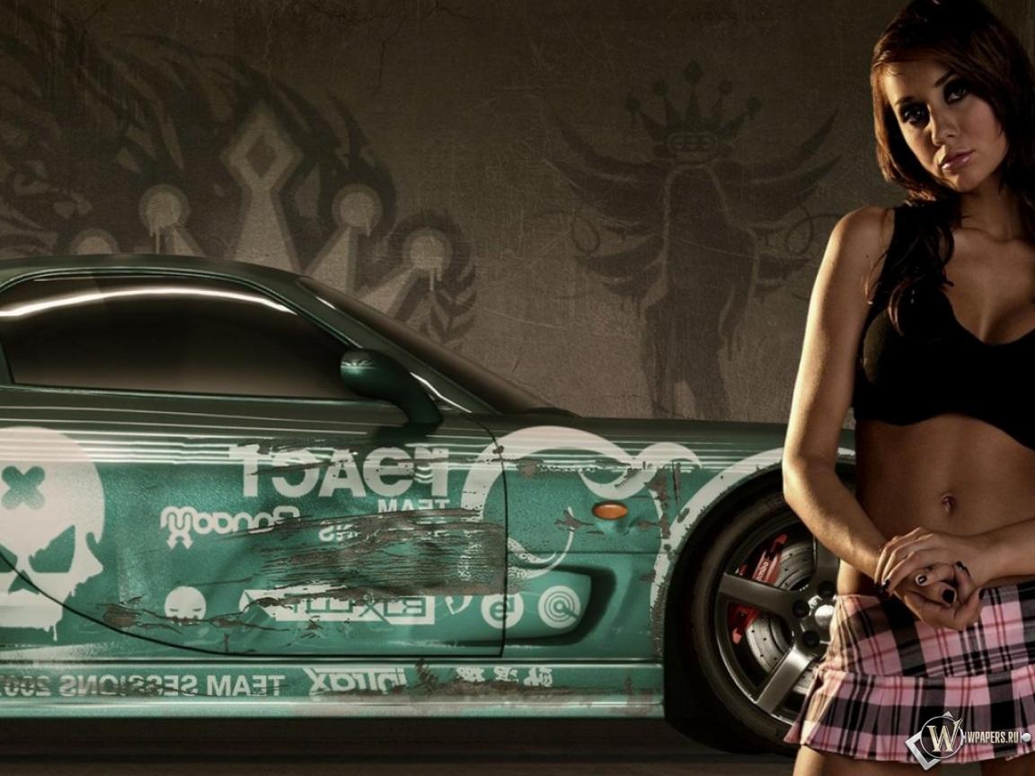 NFS Pro Street Girls 1152x864