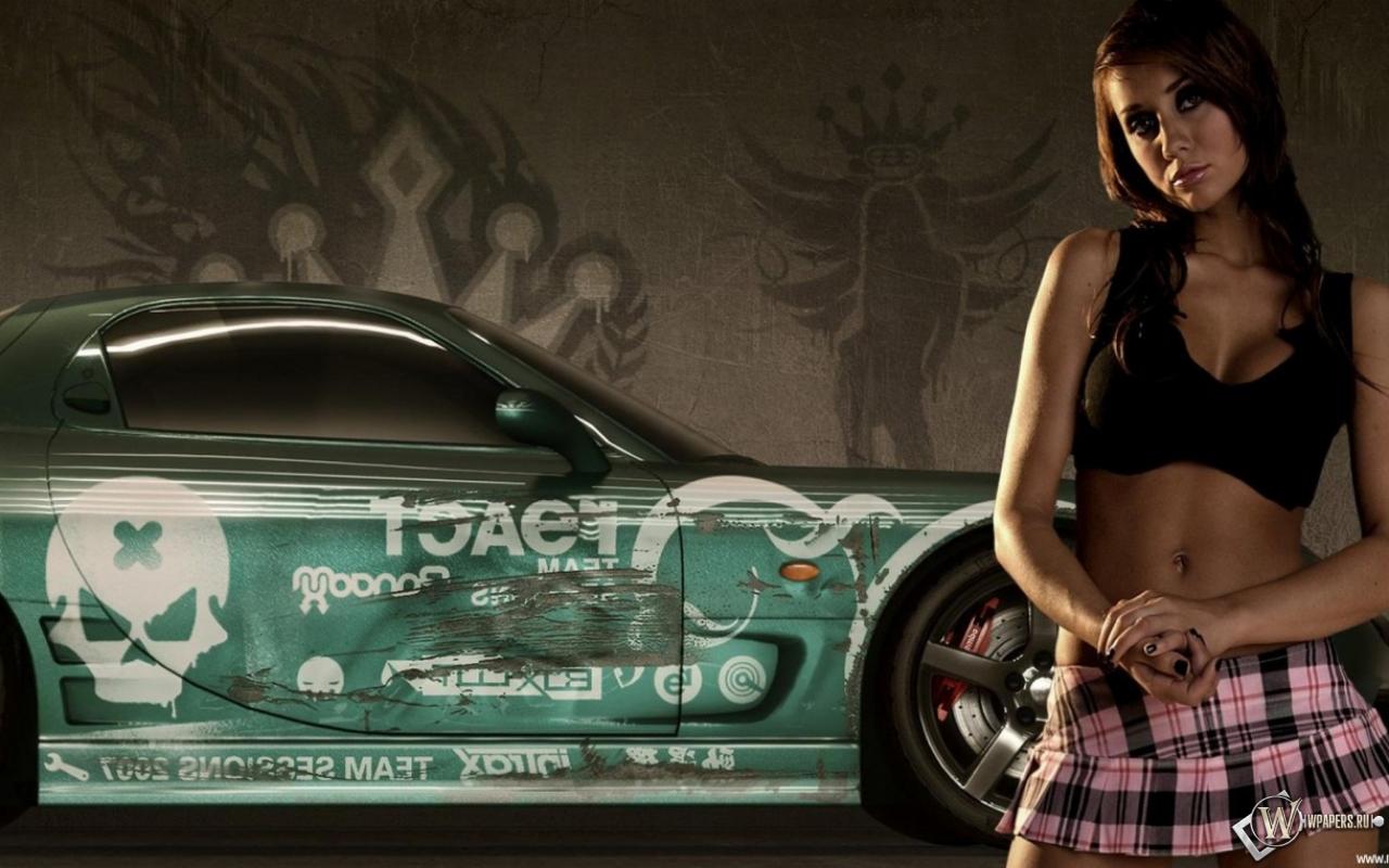 NFS Pro Street Girls 1280x800