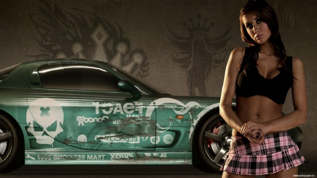 NFS Pro Street Girls