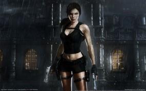 Обои Tomb Raider  Underworld: Девушка, Tomb Raider, Игра, Игры