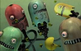 Обои Pac-Man: Игра, Роботы, Pac man, Игры