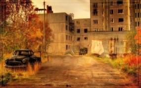 Обои Припять: Город, Осень, Игра, Припять, S.T.A.L.K.E.R