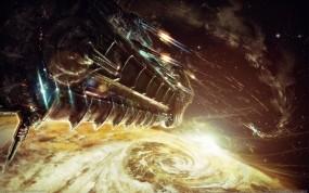Обои Bulletstorm: Космос, Корабль, Игра, Bulletstorm, Другие игры