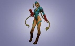 Обои Street Fighter: Девушка, Игра, Солдат, Street Fighter, Игры
