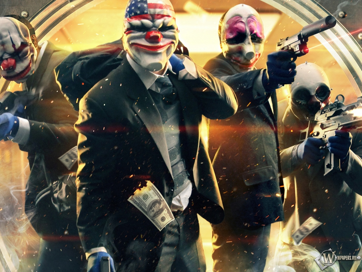 Payday 2 1400x1050