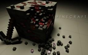 Блок с красной пылью Minecraft