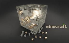 Обои Блок золота Minecraft: Игры, Minecraft, Игры